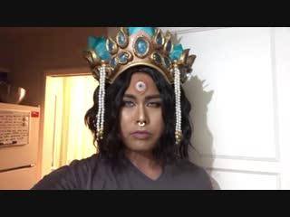 Symmetra Devi Cosplay test (male version)