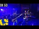OK Go: I Won't Let You Down - David Letterman