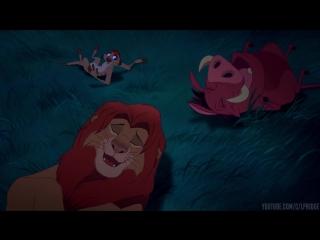 Кое-кто говорил мне, что там великие короли прошлого. Они смотрят на нас - Король Лев (1994)