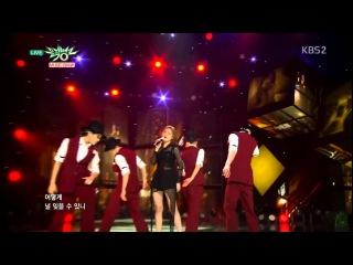 Kim Yeon Ji 김연지 '잊었니(Forgot)' / 150410 KBS Music Bank