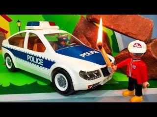 Мультики про машинки. Полицейские машины в мультике - Поджёг в лесу. Мультфильмы ...