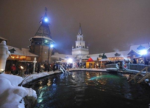 Крещение, купания, «Кремль в Измайлово»