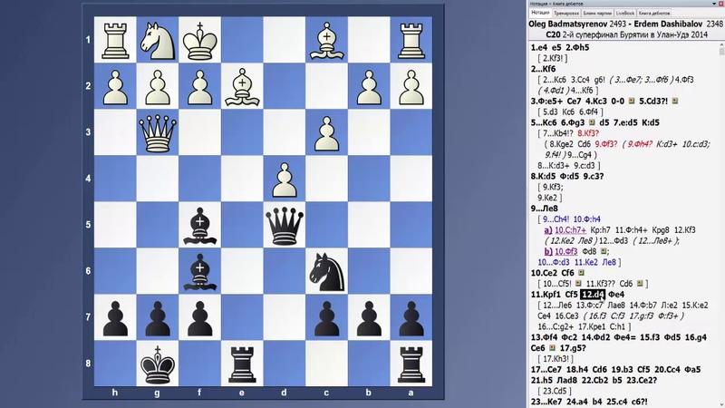 Нестандартный дебют. Битва шахматных мастеров! 1.e4 e5 2.Фh5?! Kf6!?
