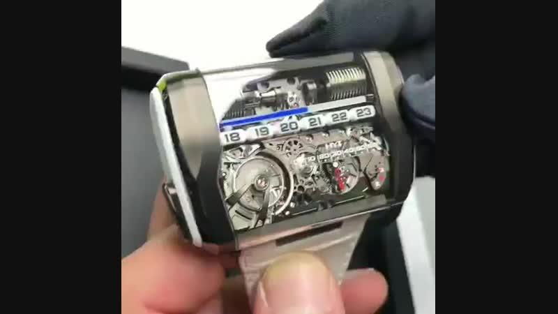 HYT H3 — гидромеханические наручные часы
