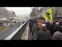 LIVE Protest against migration pact adoption takes place in Brussels