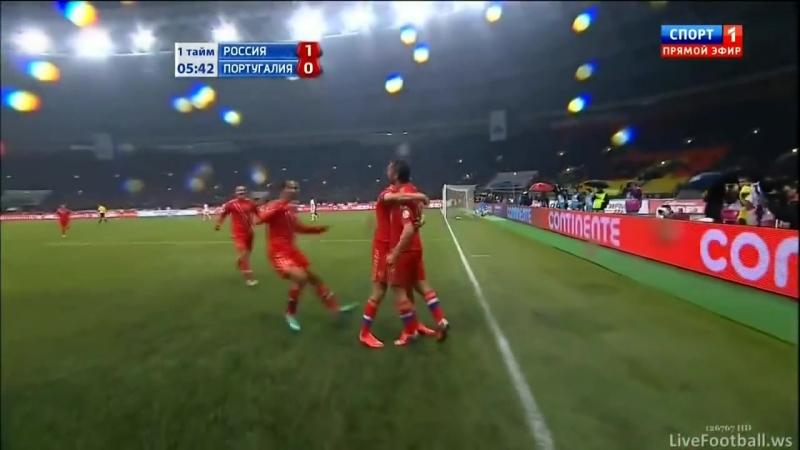 Россия - Португалия 1:0, 12.10.2012 Лужники
