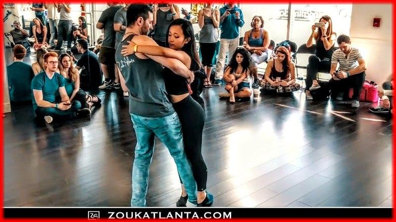 Seven Lions Echos - Cold Skin   Zouk Dance   Eddie Bonnell Emi Ferguson   I'M Zouk Escape 2018