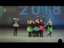 """Kids dance, дети 6-8 лет, коллектив современного танца """"Мозаика"""" """"Бусинки"""", хореограф Ксения Халтурина"""