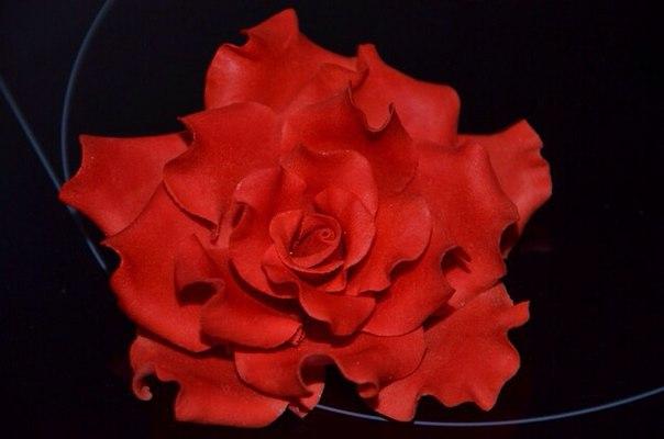 МК роза (10 фото) - картинка