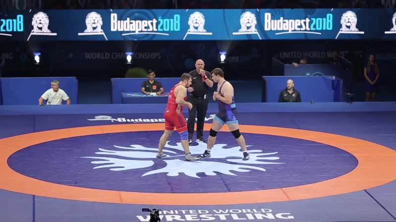 2018 FINAL -130 SEMENOV (RUS) - COON (USA) Greco-Roman wrestling world championship