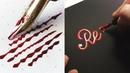 驚異のレタリング アート!【33】 フリーハンドでデザイン文字を描く技術がすごい!