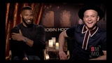 Jamie Foxx &amp Taron Egerton Interview - Robin Hood