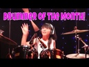 Artist of the Month! 10 Year Old Mana Fukada Japan Plays Mind Blowing Drums!