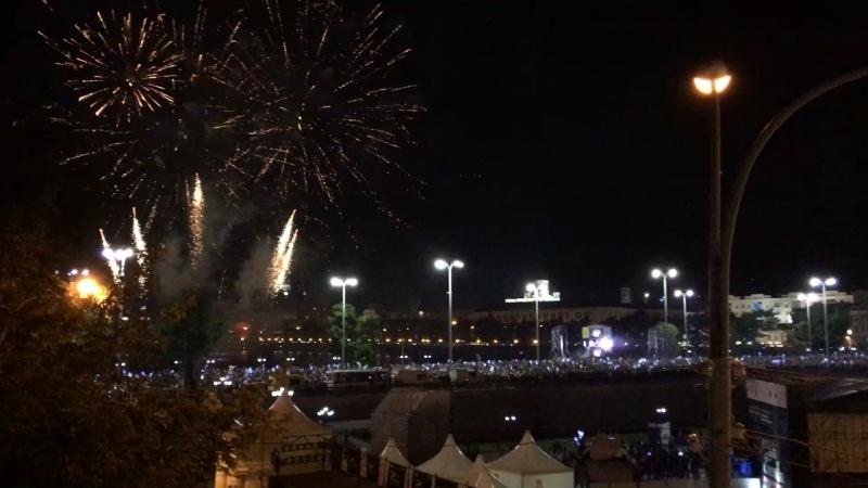 Парад фейерверка в Екатеринбурге! Команда из Чебоксаров
