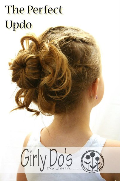 Причёска для девочки (9 фото) - картинка