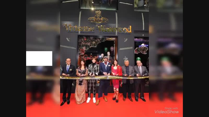 20181109 Vivienne Westwood Flagship Store and Cafe Opening at Paterson Street in Causeway Bay with Lee Joongi and Charmaine Sheh