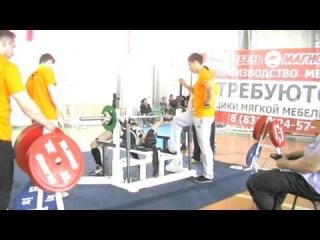 Диляра - жим 52,5 на первенстве России среди студентов