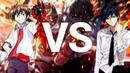 РЭП БАТТЛ Цукуне Аоно vs Хёдо Иссей RAP BATTLE Tsukune Aono vs Issei Hyoudou