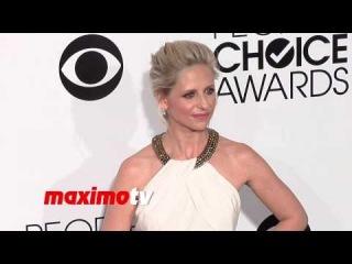 Sarah Michelle Gellar People's Choice Awards 2014 - Red Carpet Arrivals