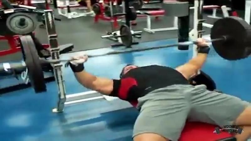 Бренч Мутант Доукетте Жим Лежа 102 кг х 54 раза Branch Mutant Doukettе bench 225