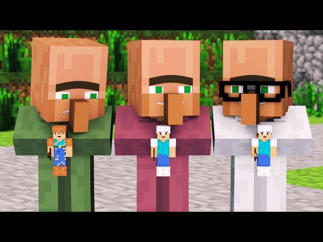 Villager Witch Life 1 - Alien Being Minecraft Animation