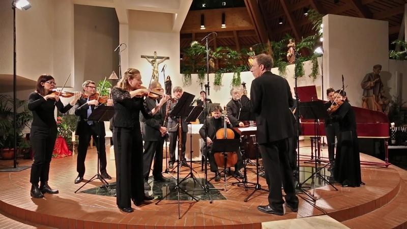 1068 J. S. Bach - Orchestral Suite No.3 in D major, BWV 1068 - Zefiro Baroque Orchestra [Alfredo Bernardini]