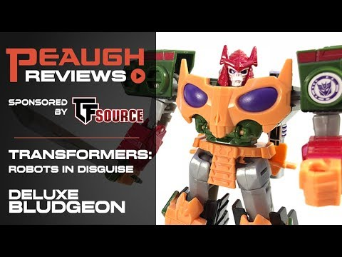 Video Review: Transfomers: Robots in Disguise - Deluxe BLUDGEON