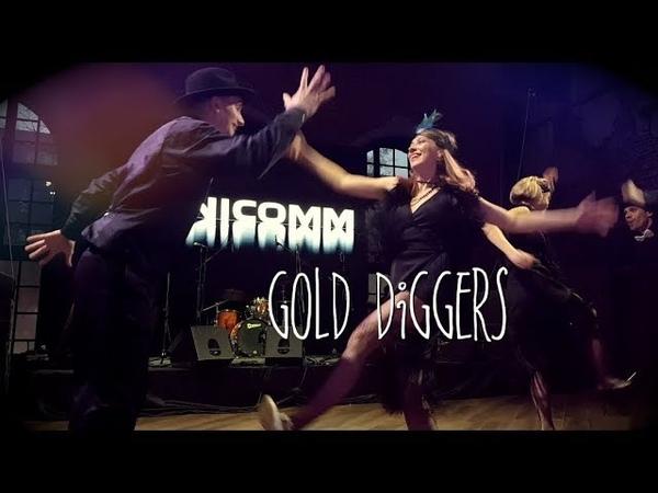 Crazy in love - Gold Diggers балет. Гетсби шоу, Москва 2018