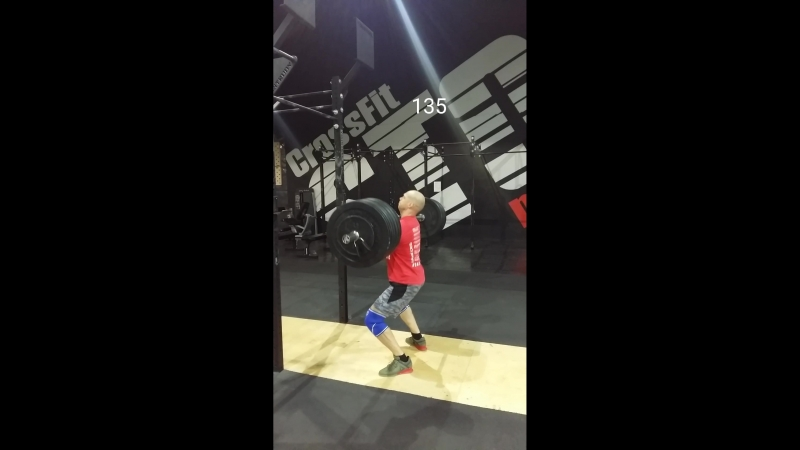 Clean 135-140, jerk from the rack 135-140.mp4
