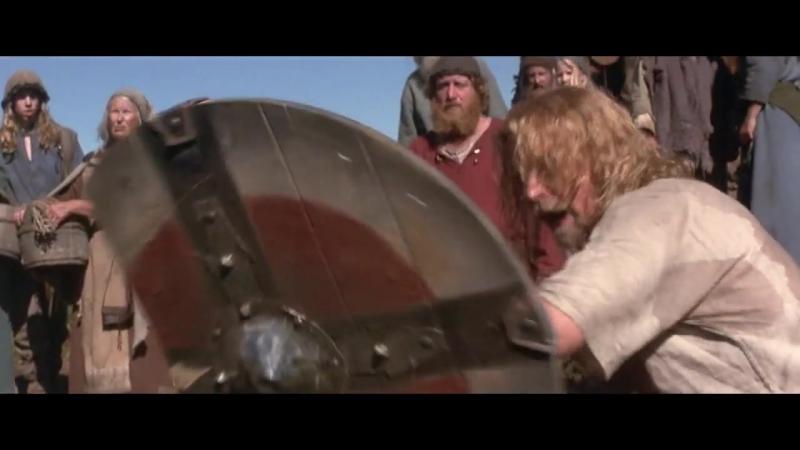 13-й воин (1999). Поединок викингов