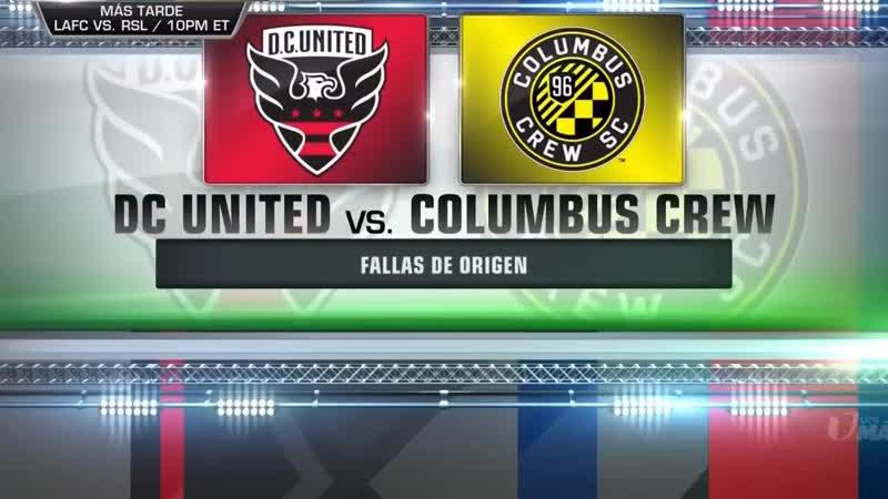Dc United vs Columbus Crew 2-2 Goals 01-11-2018