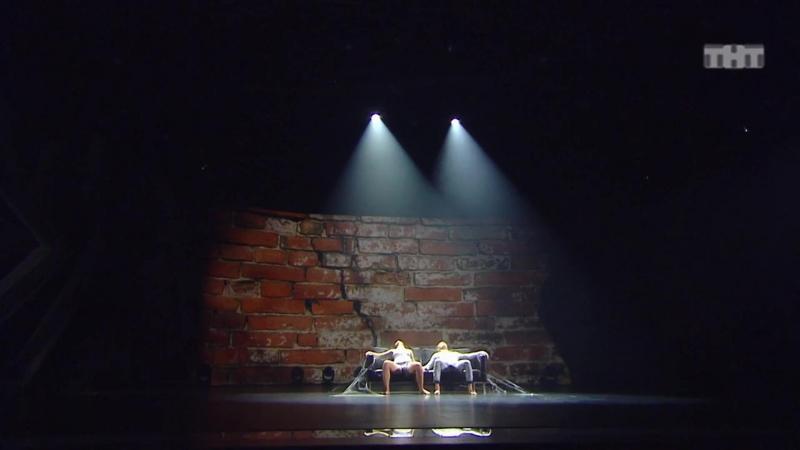 Танцы Тимофей Пименов и Таня Рыжова (Alekseev – Пьяное солнце)Замедленное.