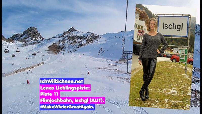 Lenas Lieblingspiste: Abfahrt 11, Flimjochbahn Ischgl (AUT),11/18.