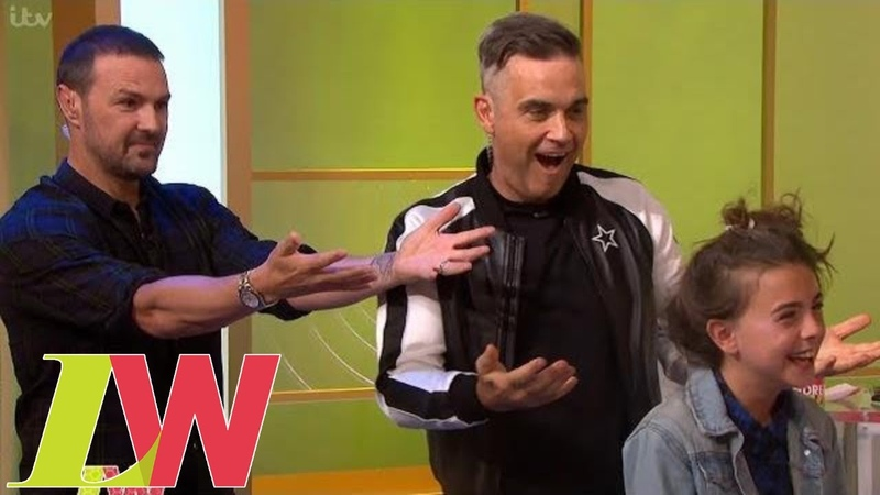 Robbie Williams and Paddy McGuinness Utterly Fail at Styling Andrea's Daughter's Hair | Loose Women