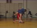 Уроки самбо Подножка передняя с колена отступая