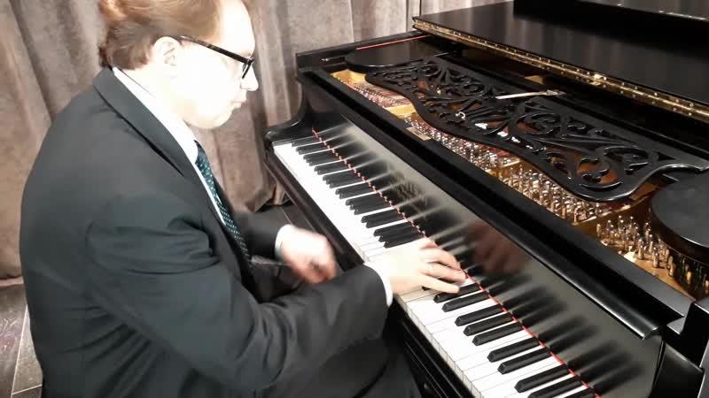 Пианист В Беломестных вызывает дух старинного Steinway Домжура O O