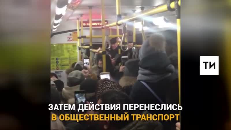 ПЕСНОПЕНИЯ в автобусе после концерта Элвина Грея