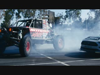 HANGTIME! Team Nitto ULTRA4 Trucks Jump One Epic Drift Train