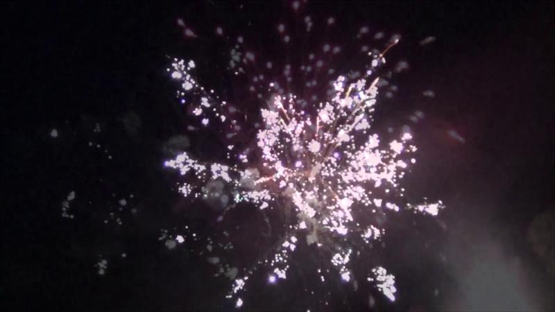 Святковий Салют в Білокуракине, День Перемоги, 09.05.2012