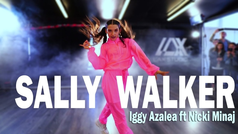 Iggy Azalea - Sally Walker Ft Nicki Minaj | Street Dance | Sabrina Lonis Choreography