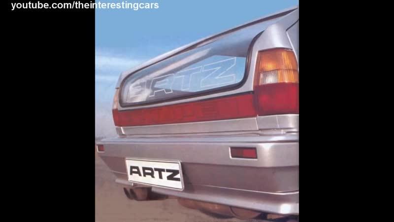 5 необычных машин от ARTZ. Самый нестандартный тюнинг Audi VW и Porsche
