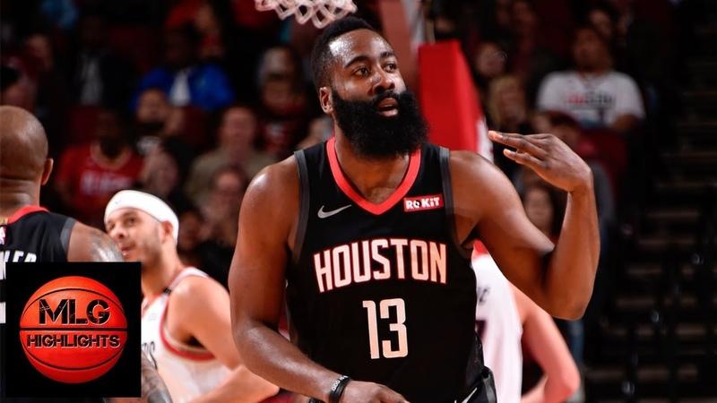 Houston Rockets vs Portland Trail Blazers Full Game Highlights | 12.11.2018, NBA Season