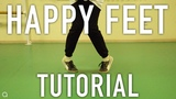 HOW TO DO THE HAPPY FEET HIP HOP DANCE MOVE TUTORIAL by @oleganikeev ANY DANCE
