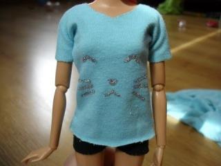 Как сделать футболку для кукол