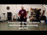 This is the footwork that we use at Davenriche European Martial Artes School
