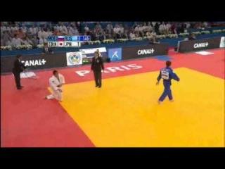 2011 World Championships Paris (-66kg Semi Final) Masashi Ebinuma (JPN) - Musa Mogushkov (RUS)