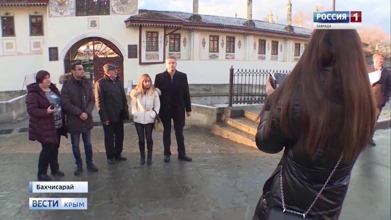 Знакомство с Крымом на полуостров приехали иностранные журналисты