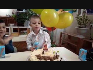 день рождения Темушки