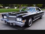 Автомобиль Cadillac Eldorado Convertible, 1974 года