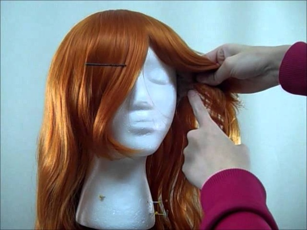 Wig Styling Tutorial How to Cut Bangs